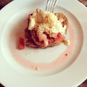 French toast with orange mascarpone,…