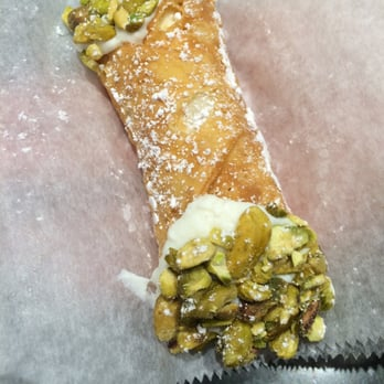 Modern Pastry Shop - Boston, MA, United States. Pistachio with ricotta filling