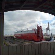 Container Aussichtsturm, Bremerhaven, Bremen, Germany