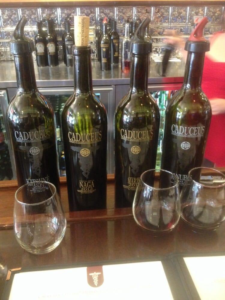 Caduceus Cellars And Merkin Vineyards Tasting Room 96