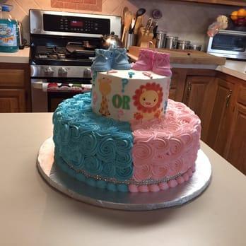 Gender Reveal Cake Bakery Nj