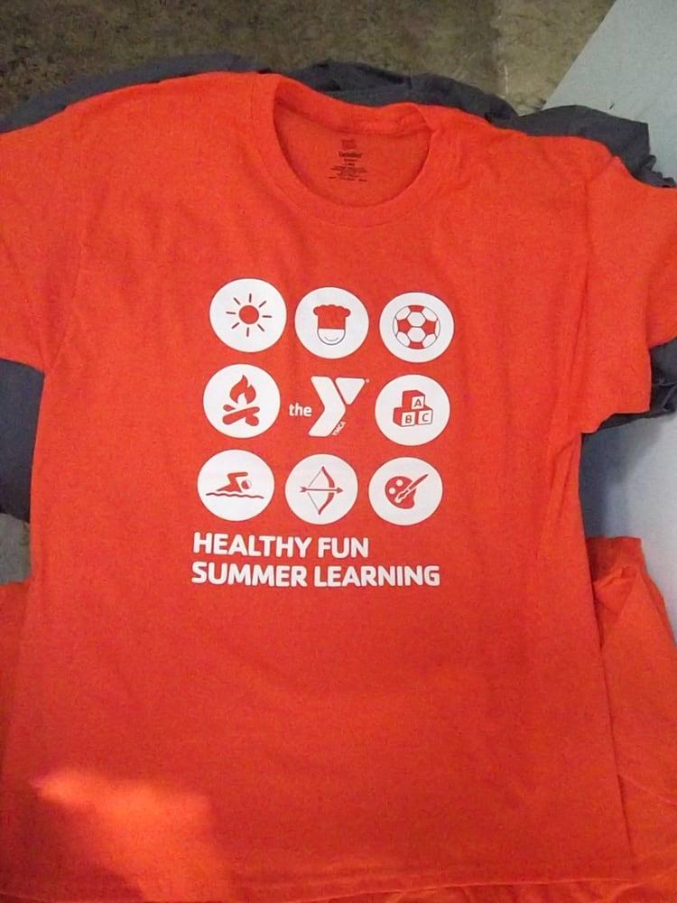 Ymca Summer Camp T Shirt Designs