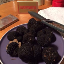That's a LOTTA black truffles
