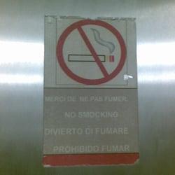 No smocking.