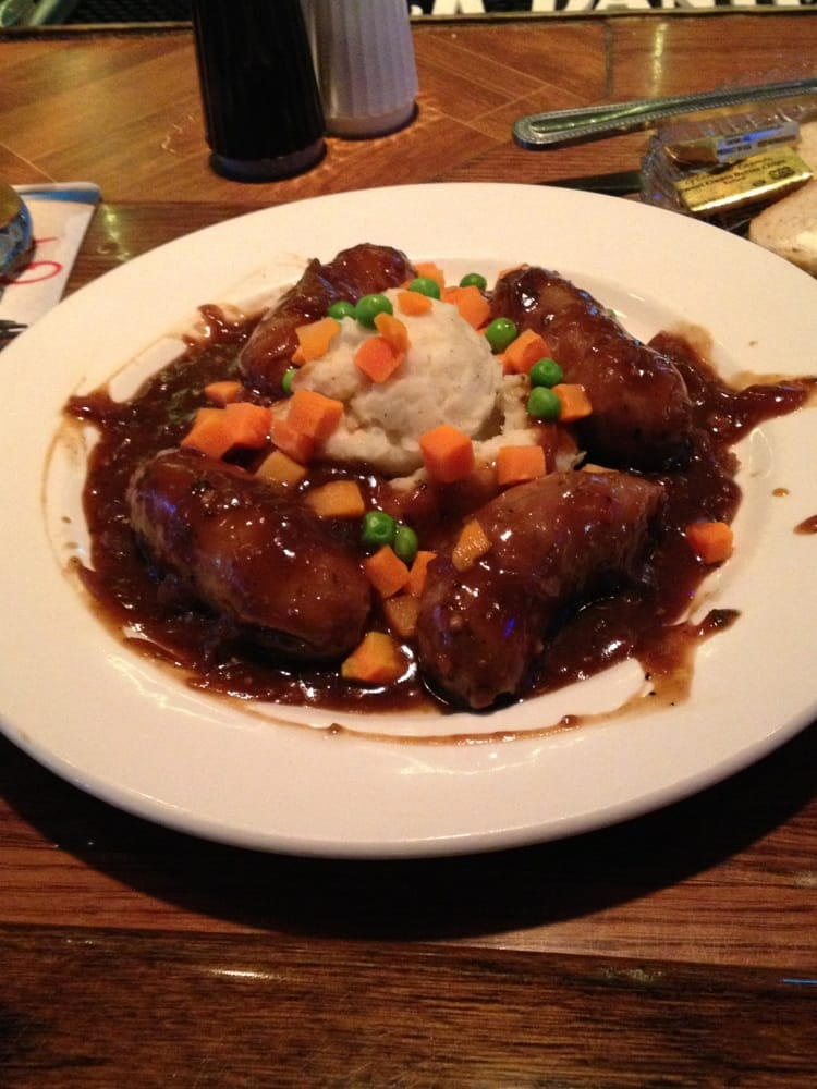 Bangers and Mash on daily special menu. Aweso | Yelp