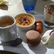 Chez Aldo - Marseille, France. Le café gourmand