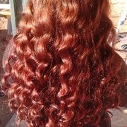 Hair Dresser on Fire - Even out her ombré with a solid bold color. - Montclair, CA, Vereinigte Staaten