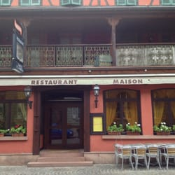 Maison rouge 11 photos restaurant fran ais 9 rue des for Restaurant la maison rouge colmar