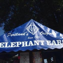 Portland Saturday Market - Portland, OR, États-Unis. Elephant Ears