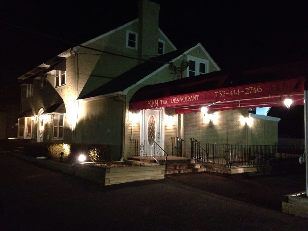 Siam Thai Restaurant - Colts Neck, NJ, United States. Storefront (Night)