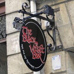 The Black Velvet Bar, Bordeaux, France