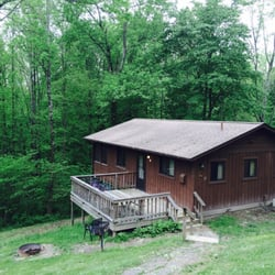 Dillon state park lakes nashport oh reviews for Fishing cabin rentals near me