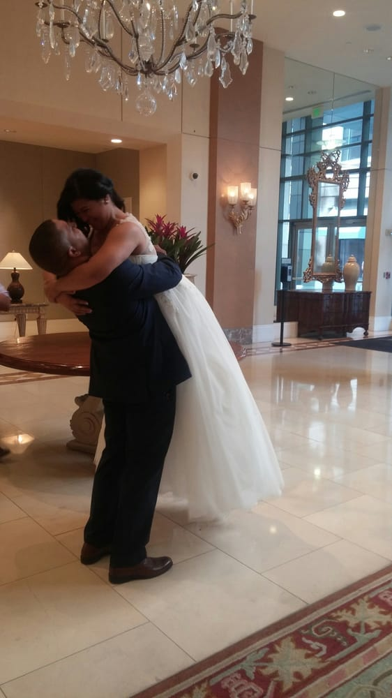 When the groom got to see his bride in her wedding dress for Wedding dresses in san jose ca