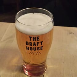 A pint of the house lager.