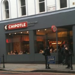 Chipotle on Charing Cross