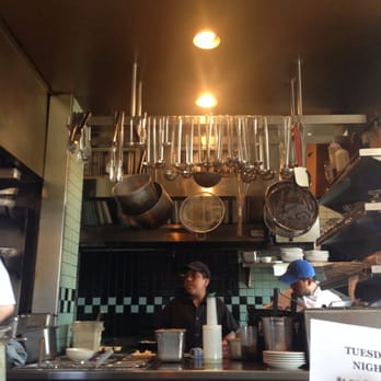 Coastal Kitchen View From The Marble Counter Seating Seattle Wa United States