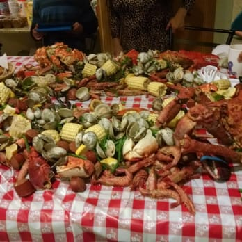 Lbc seafood market 123 photos seafood markets 1436 for Long beach fish market