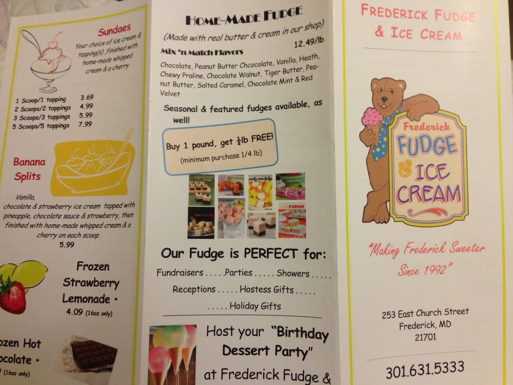 Ice Cream Cake Frederick Md