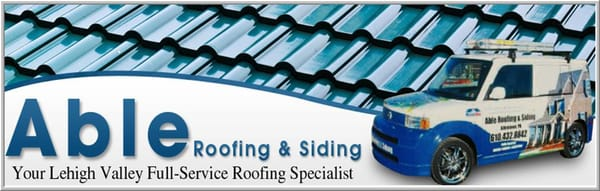 Able Roofing And Siding Allentown Pa