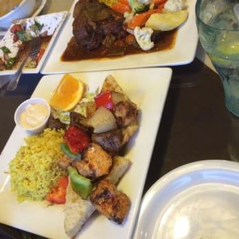 Phoenician Garden Restaurant Fresno Ca Yelp