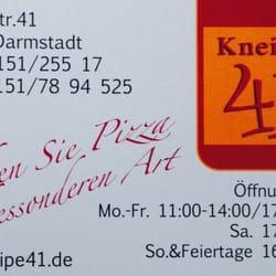 Kneipe 41, Darmstadt, Hessen