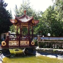 Turm im Gastgarten vom China-Restaurant…