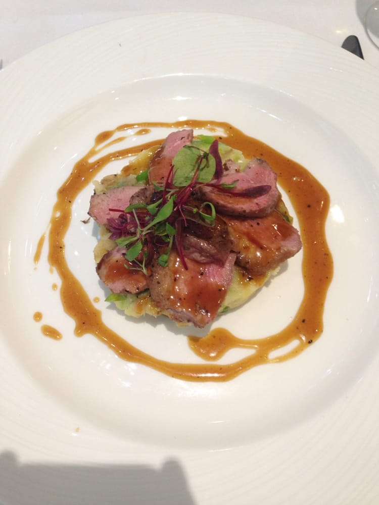 ... King Street West - Manchester, United Kingdom. Duck Breast A L'Orange
