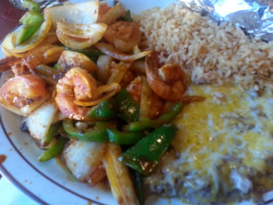 Sizzling Shrimp Fajitas   Yelp