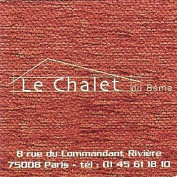 Le chalet du 8 me 10 photos cr perie 8 me paris - Meilleure raclette paris ...