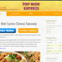 Top Wok Express Chinese Takeaway