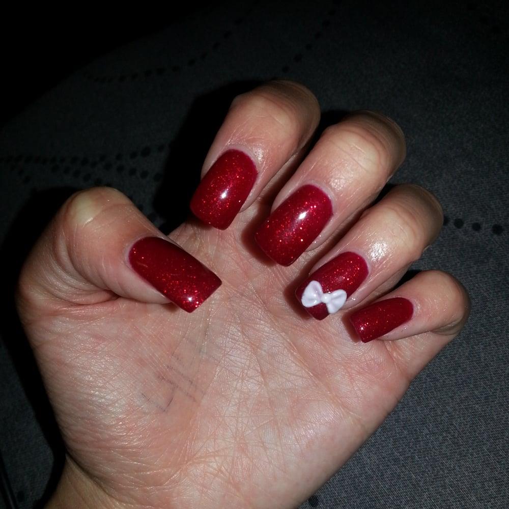 29 brave Red Fake Nails – ledufa.com