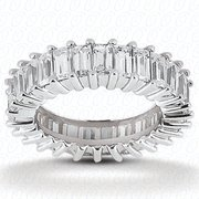 Paramito & Son Jewelers - Emerald cut diamond eternity band - Cherry Hill, NJ, Vereinigte Staaten
