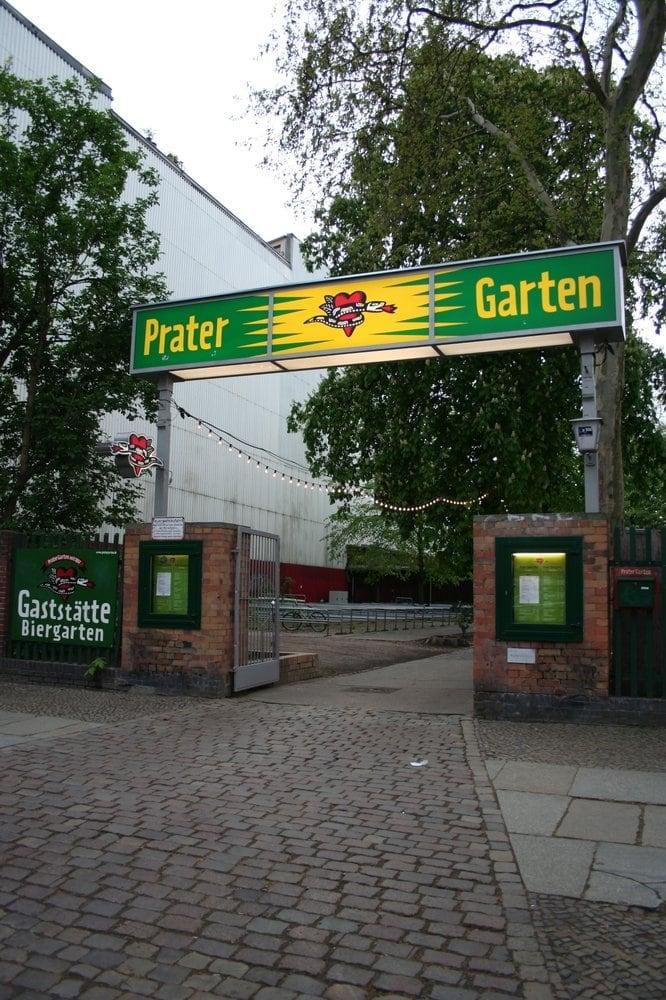 Prater Garten - Berlin, Germany