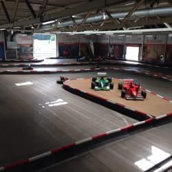 Indoor track.