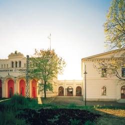 Bayerischer Bahnhof - Portikus