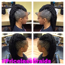 Crochet Braids Dallas : Priceless Braids - Dallas, TX, United States. Twisted Mohawk with ...