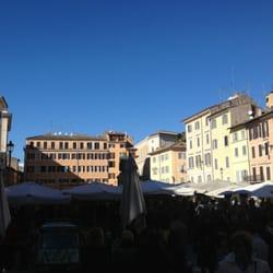 Farmer's market in Campo di Fiori