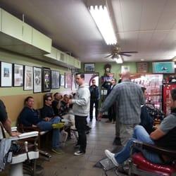 Old-Style Barber Shop