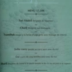 First Menu (french)