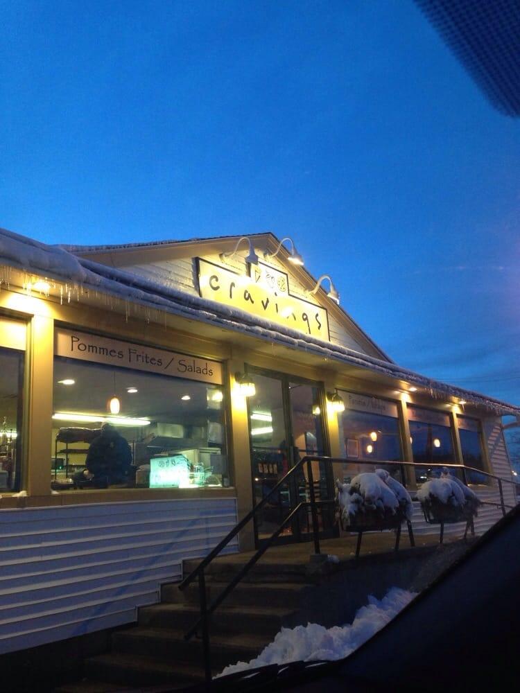 Cravings Cafe Kingston Menu
