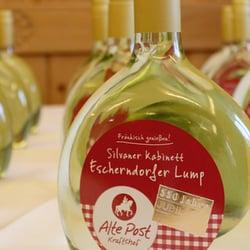 Limitierter Jubiläums Bocksbeutel Wein