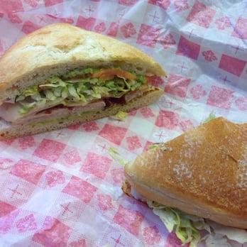 RG Grill - Houston, TX, United States. Turkey and bacon panini
