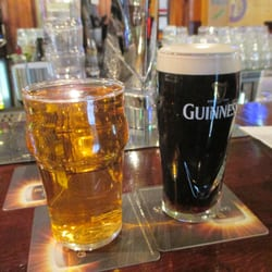 Excellent Magner's and Guinness; great…
