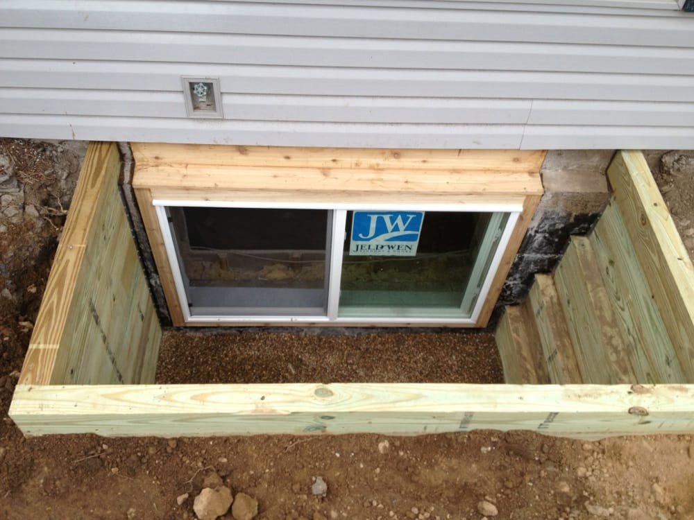 The egress window company windows installation 105 new for New window company