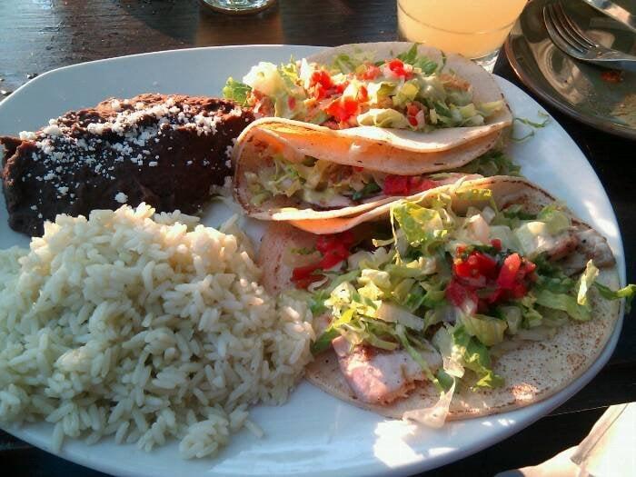 ... , TX, United States. 2 mahi mahi tacos, 1 fried oyster taco, so good