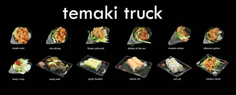 Temaki Truck - Los Angeles, CA, United States. Temaki Hand Rolls