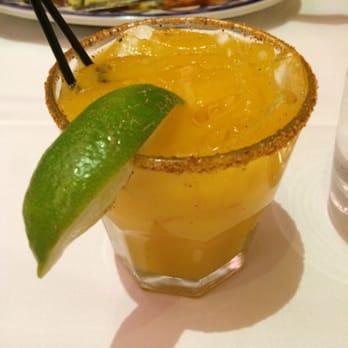 Rosa Mexicano - Washington, DC, United States. Chile mango margarita
