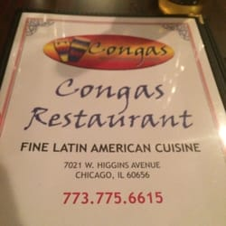 Congas fine latin american cuisine colombian norwood for American cuisine chicago