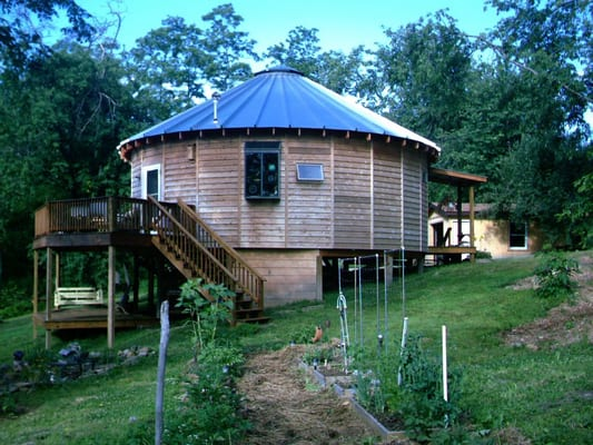 """This """"yurt"""" home built by Green Ridge Builders in Holmes ..."""
