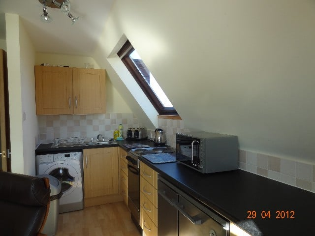 Lairg United Kingdom  City new picture : Kylesku Lodges Lairg, Highland, United Kingdom. Kitchen at Kylesku ...